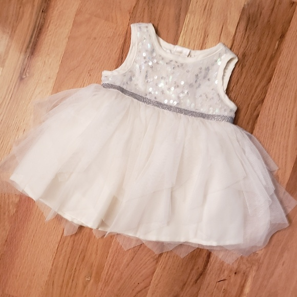 The Children's Place Other - Children's Place Sequin Top Tulle Tutu Dress